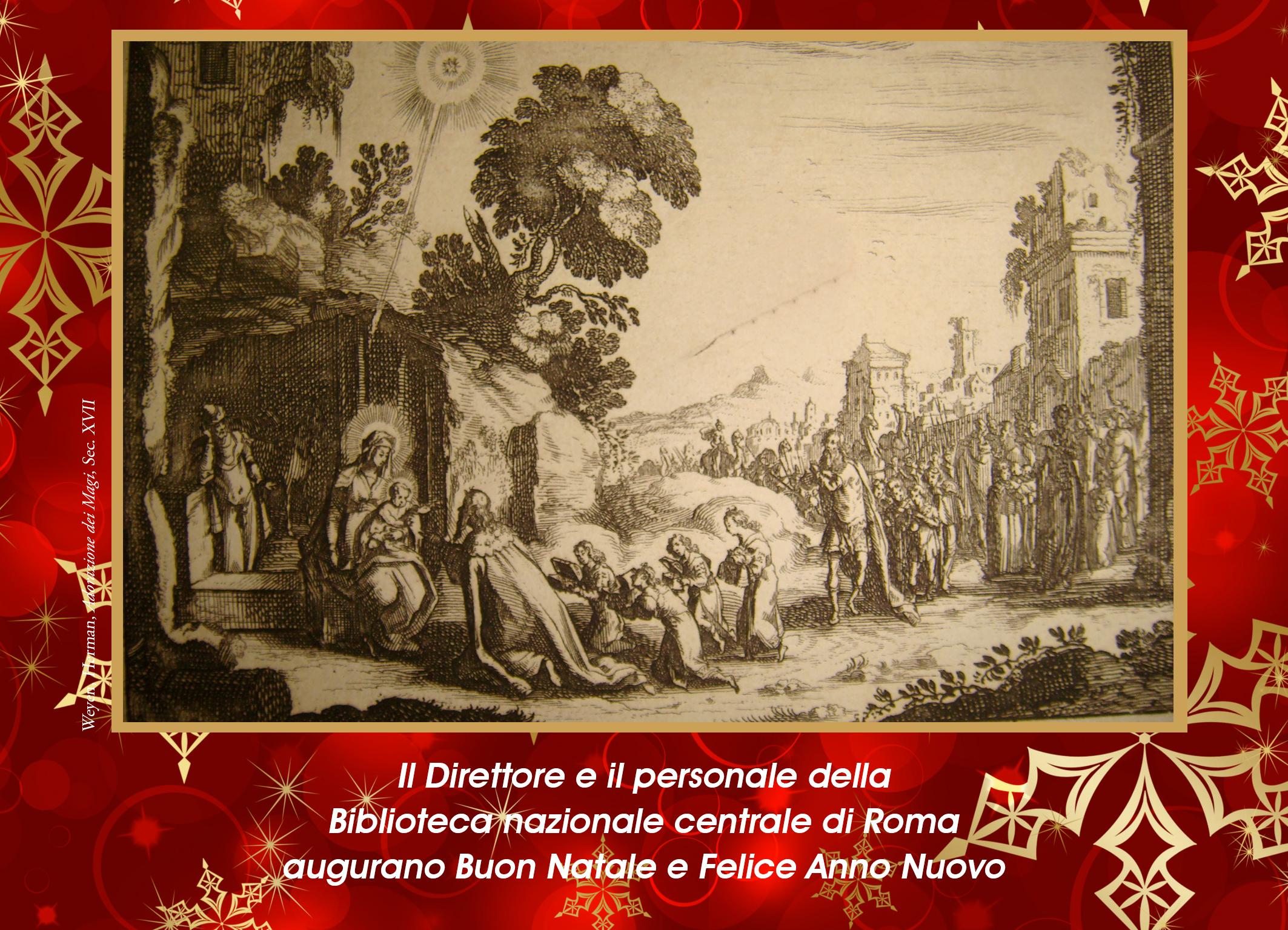 Auguri Di Natale 105.Auguri Di Natale Biblioteca Nazionale Centrale Di Roma